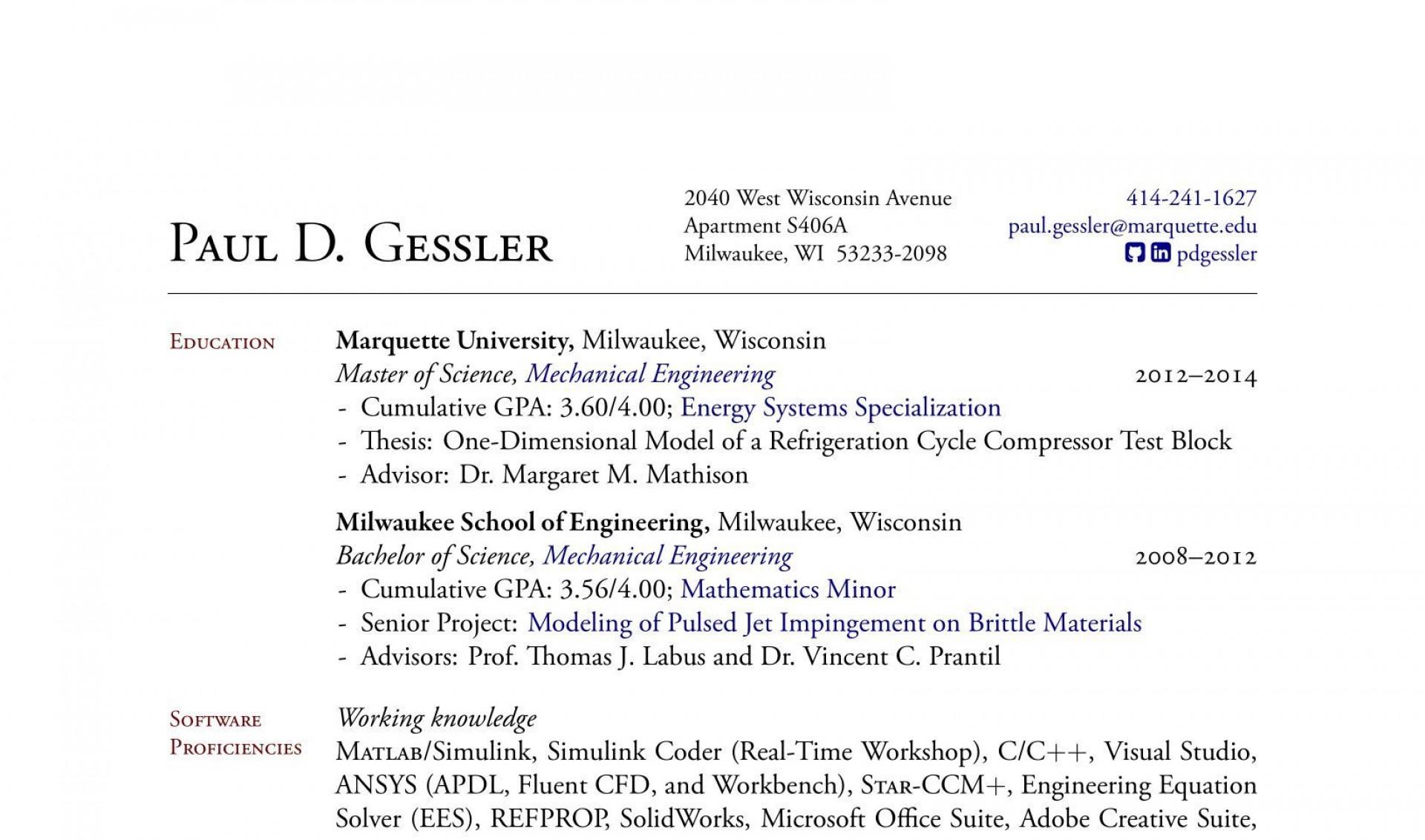 001 Breathtaking Latex Resume Template Phd Design  Cv Graduate Student Economic1920