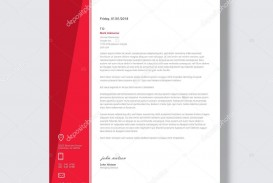 001 Breathtaking Letterhead Template Free Download Ai Concept  File
