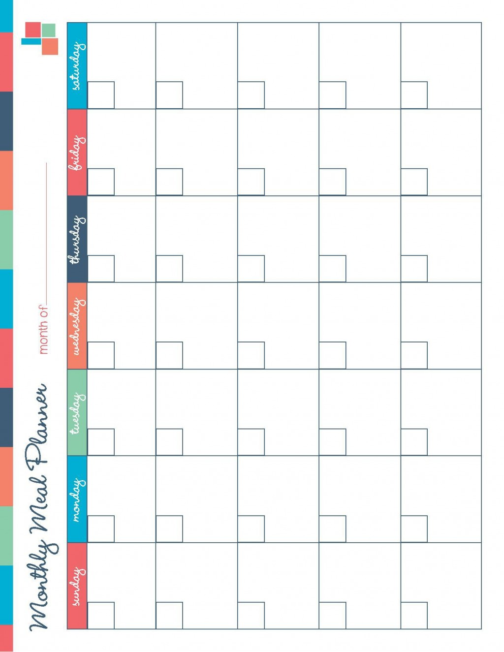 001 Breathtaking Meal Plan Calendar Template Highest Clarity  Excel Weekly 30 DayLarge