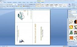 001 Breathtaking Microsoft Word Card Template Sample  Birthday Half Fold Place Download Free
