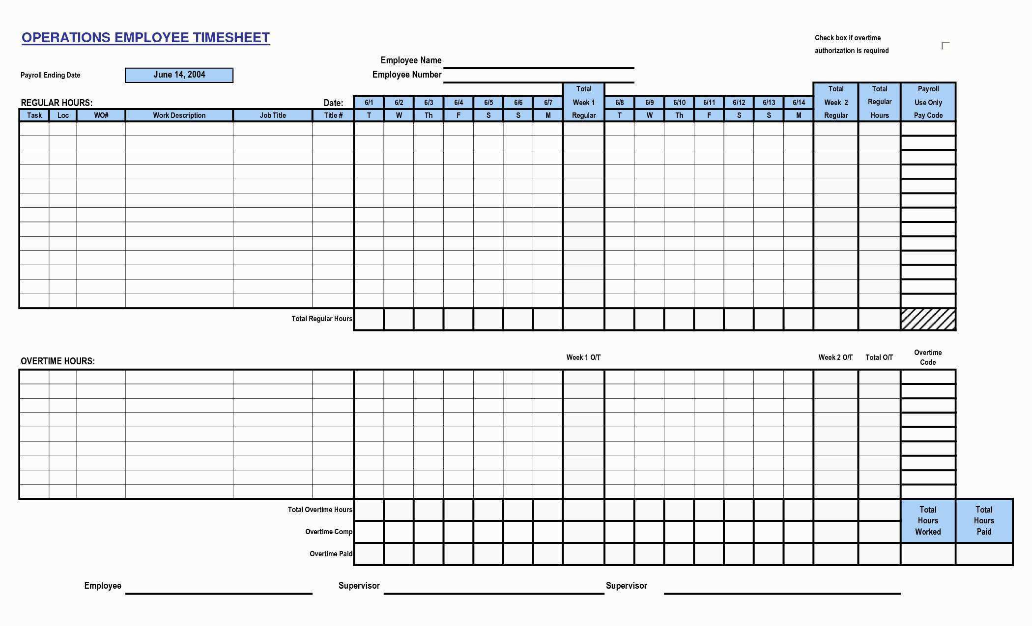 001 Breathtaking Operation Employee Time Card Excel Template Highest Quality Full