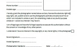 001 Breathtaking Photo Release Form Template Free  Print Order And Video Canada
