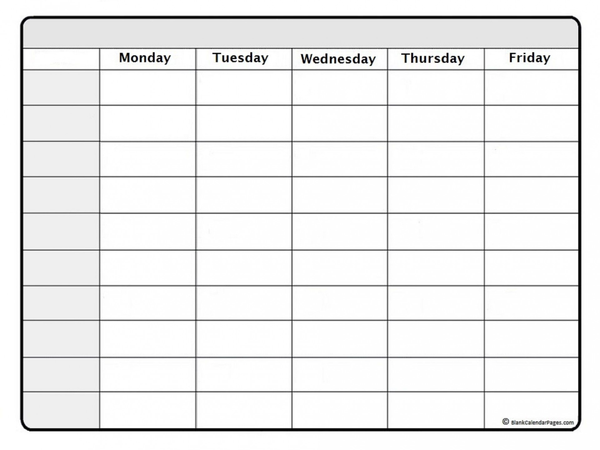 001 Breathtaking Weekly Calendar Template 2020 Highest Clarity  Printable Blank Free1920