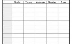 001 Breathtaking Weekly Calendar Template 2020 Highest Clarity  Printable Blank Free