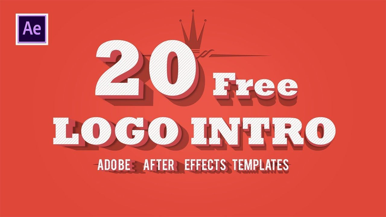 001 Dreaded After Effect Logo Animation Template Free Download High Def  Photo Text 2dFull