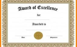 001 Dreaded Blank Award Certificate Template Example  Printable Math Editable Free