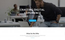001 Dreaded Bootstrap Responsive Professional Website Template Free Download Inspiration