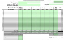 001 Dreaded Construction Bid Template Free Excel Concept