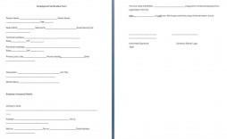 001 Dreaded Employment Verification Form Template Example  Templates Previou Past Printable
