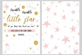 001 Dreaded Free Baby Shower Invitation Template High Definition  Printable For A Girl Microsoft Word