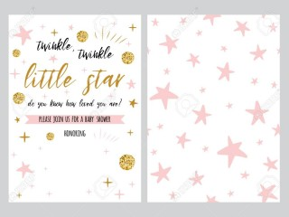 001 Dreaded Free Baby Shower Invitation Template High Definition  Printable For A Girl Microsoft Word320