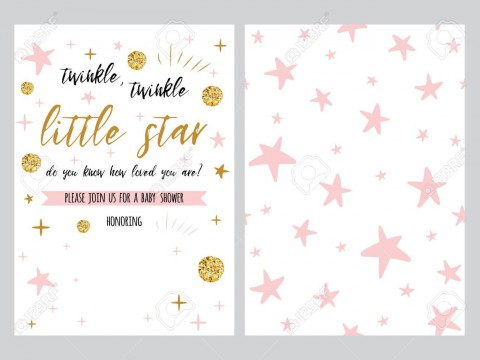 001 Dreaded Free Baby Shower Invitation Template High Definition  Printable For A Girl Microsoft Word480