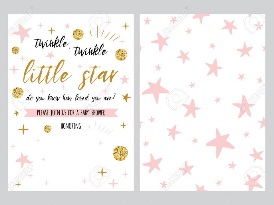 001 Dreaded Free Baby Shower Invitation Template High Definition  Printable For A Girl Microsoft Word960