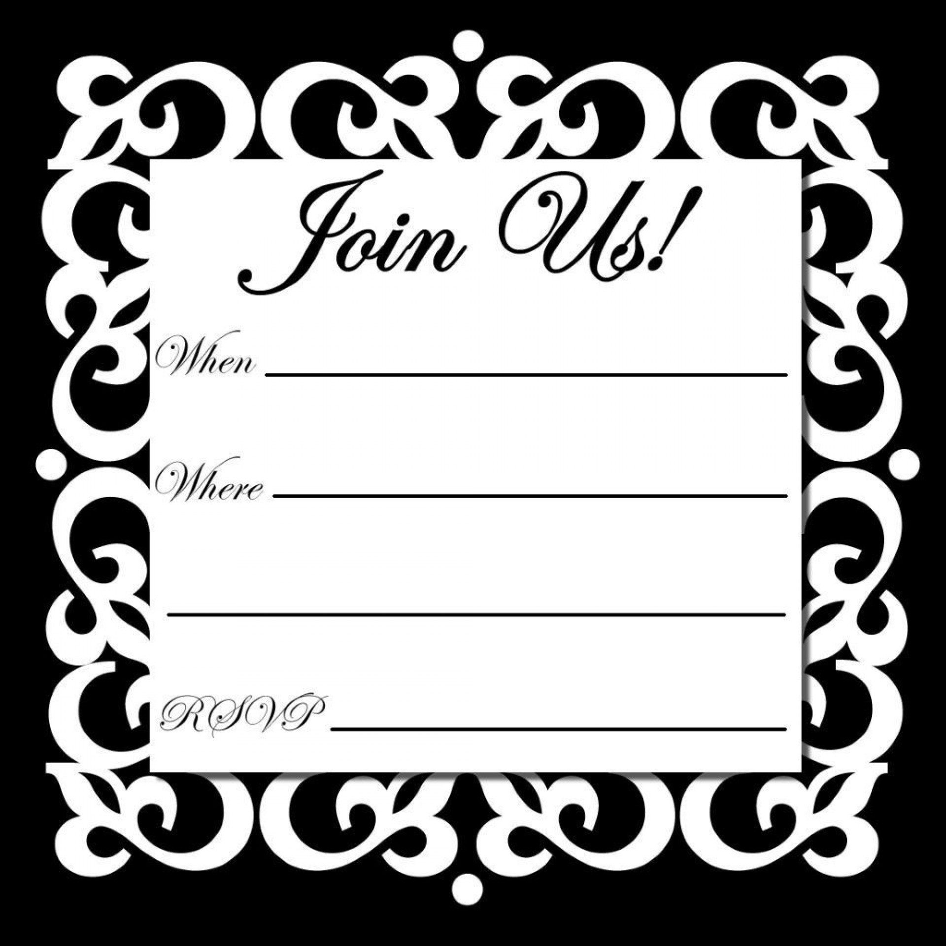 001 Dreaded Free Online Invitation Template Printable Photo  Baby Shower Wedding1920