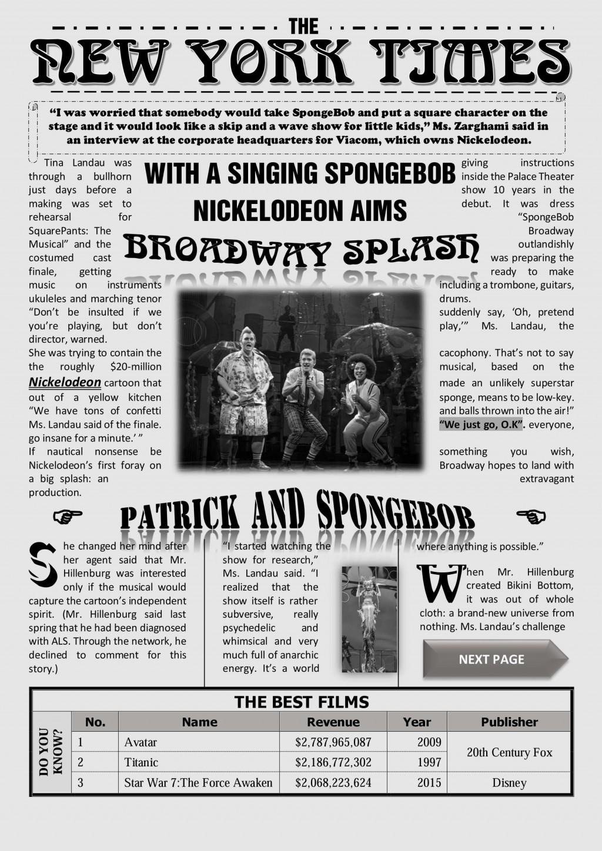 001 Dreaded Microsoft Word Newspaper Template Sample  Vintage Old FashionedLarge