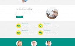001 Dreaded Responsive Landing Page Template Example  Templates Marketo Free Pardot Html5 Download