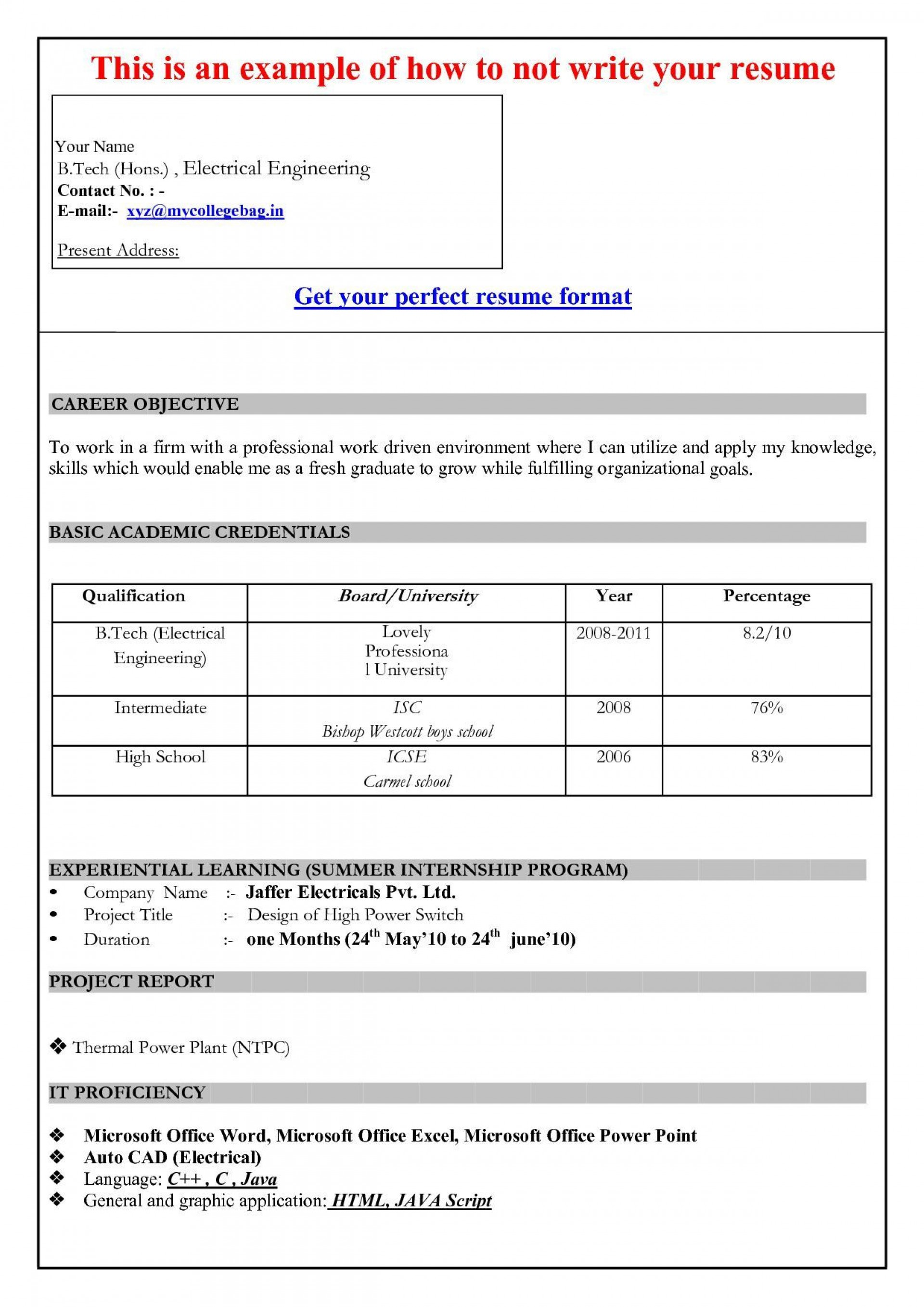 001 Dreaded Resume Sample Template Microsoft Word 2007 1920