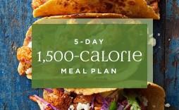 001 Dreaded Sample 1500 Calorie Meal Plan Pdf