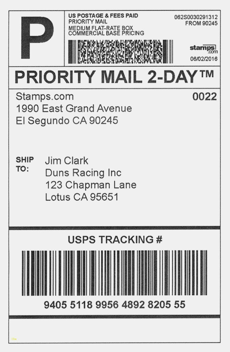 001 Dreaded Shipping Label Template Word 2016 Example Full