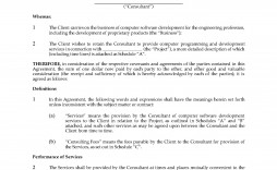 001 Dreaded Simple Consulting Agreement Template Example  Free Uk Pdf