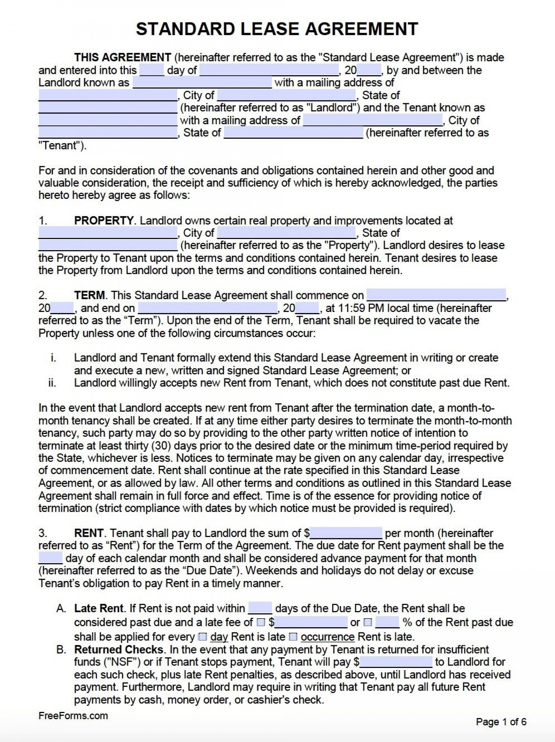 001 Dreaded Template For Renter Lease Agreement Photo  Free Apartment1920