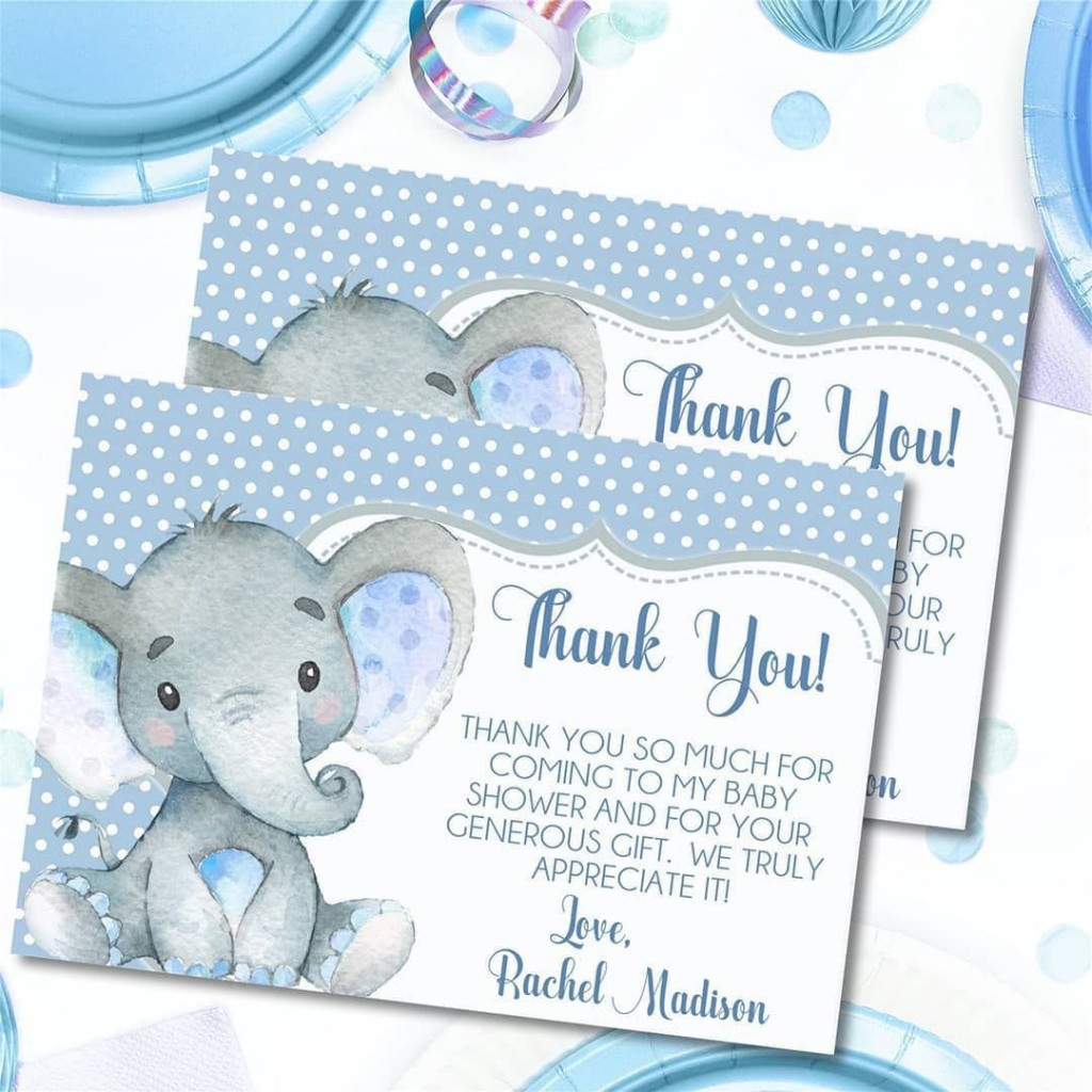 001 Dreaded Thank You Note Template For Baby Shower Gift Example  Card Letter SampleLarge