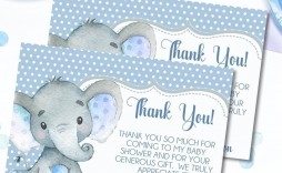 001 Dreaded Thank You Note Template For Baby Shower Gift Example  Card Letter Sample