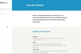 001 Dreaded Website Design Proposal Template  Web Pdf Redesign