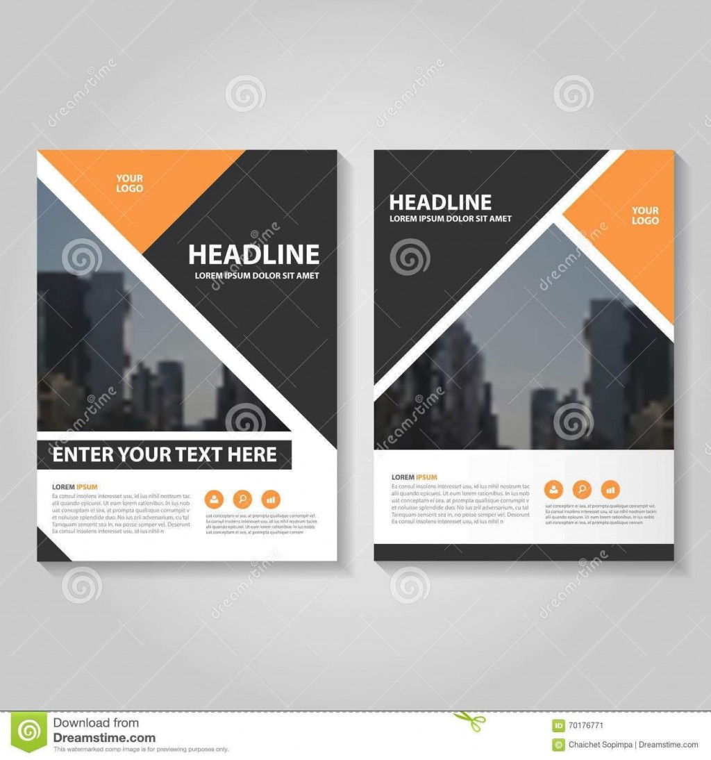 001 Excellent Brochure Template For Wordpad Image  FreeLarge