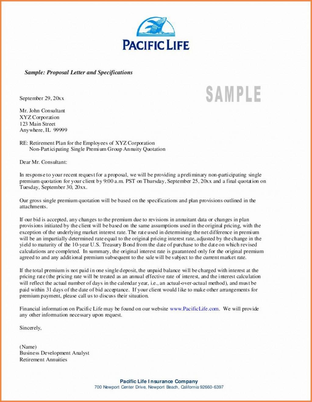 001 Excellent Busines Proposal Letter Template High Definition  Free DownloadLarge