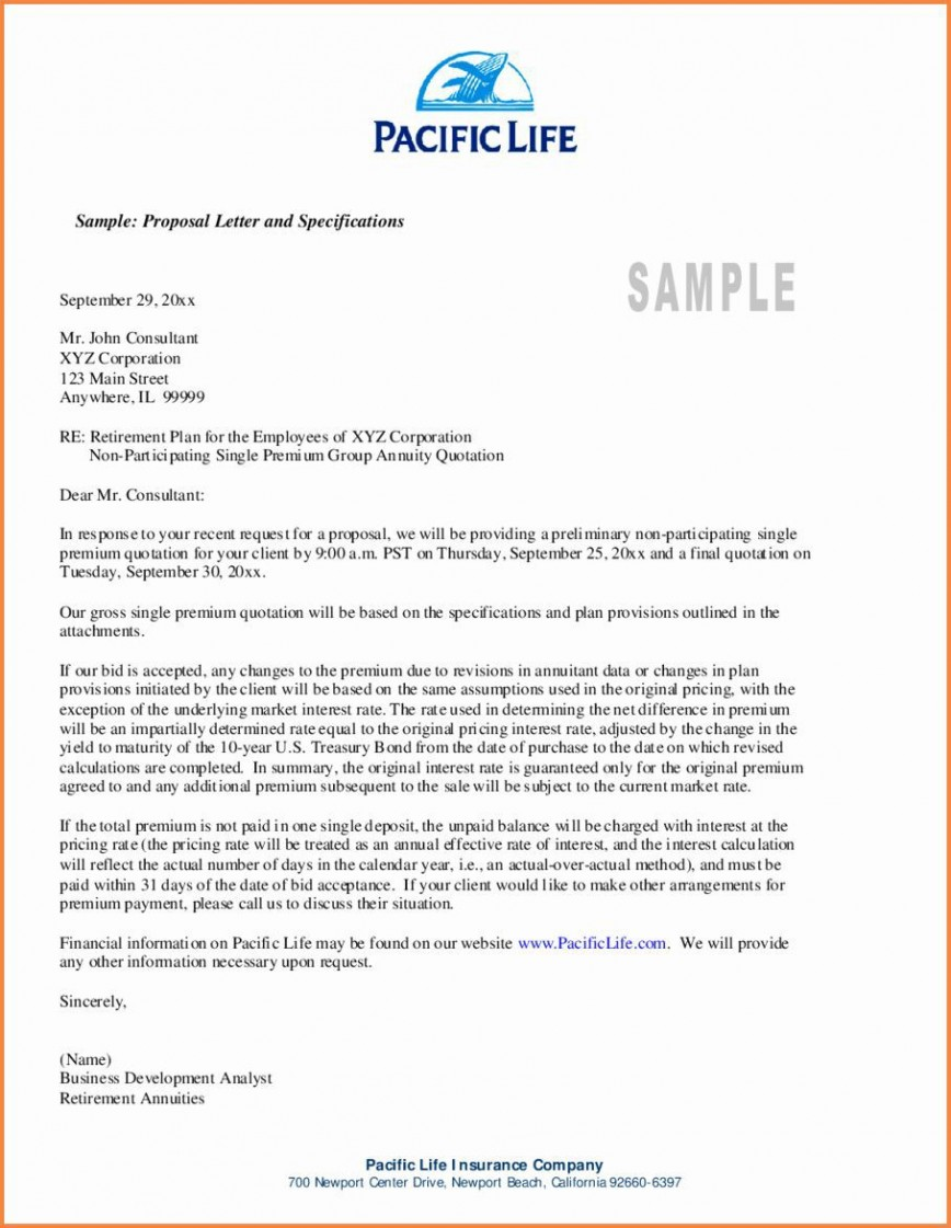 001 Excellent Busines Proposal Letter Template High Definition  Free Download Cover Service