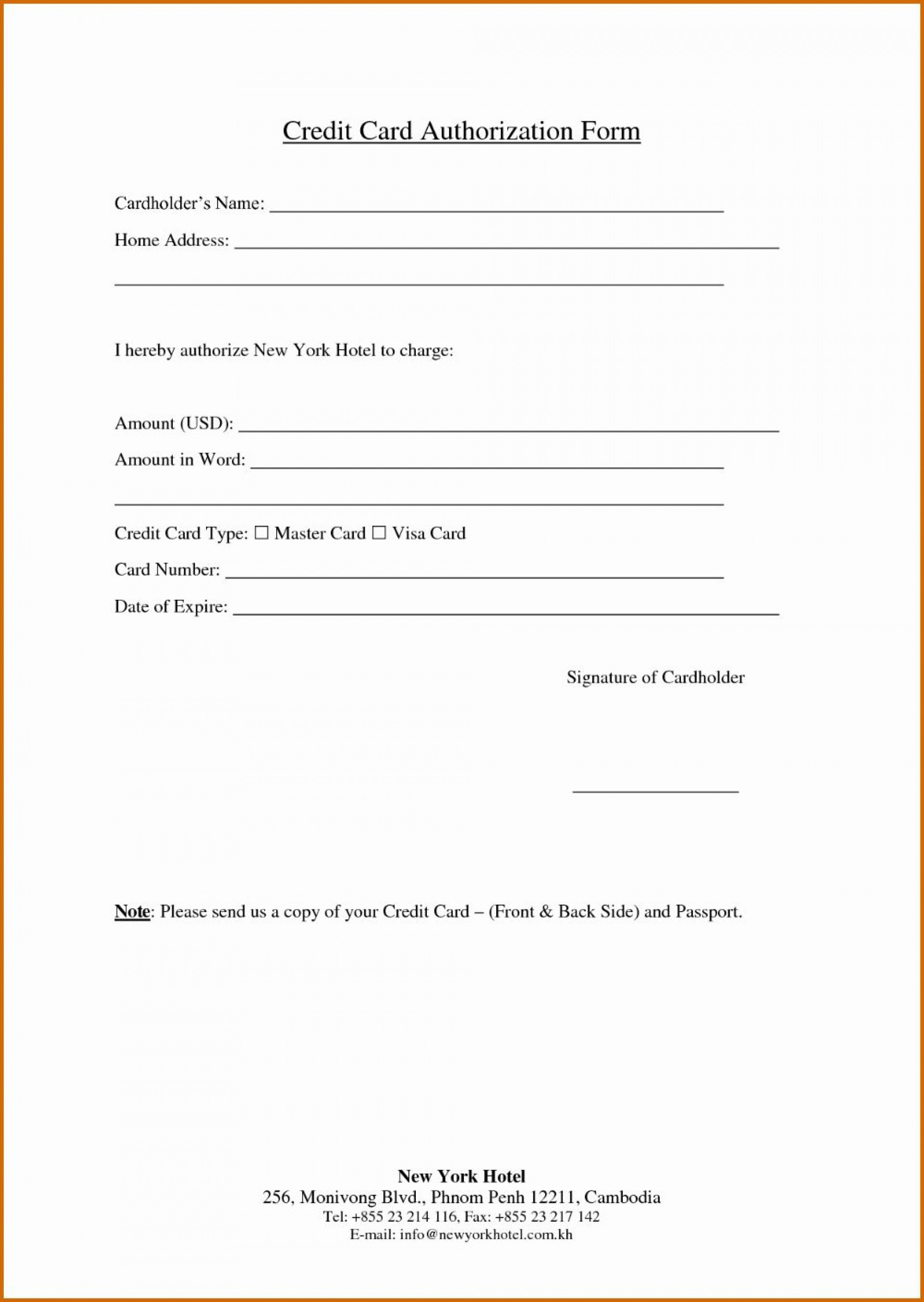 001 Excellent Credit Card Template Word Picture  Authorization Hotel Form Slip1920
