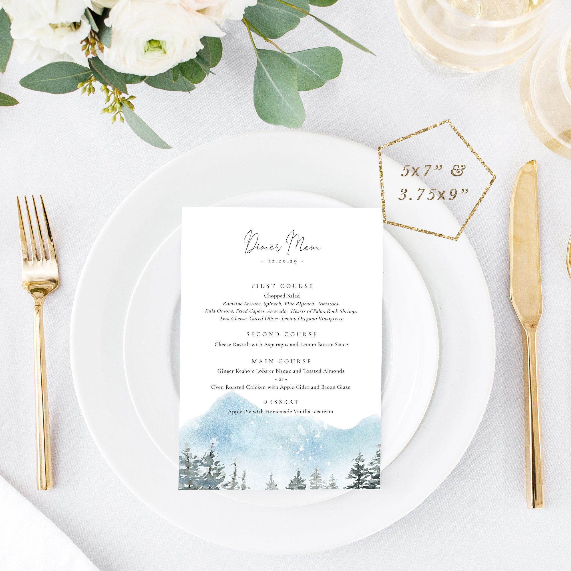 001 Excellent Dinner Party Menu Template Sample  Card Free Italian WordFull