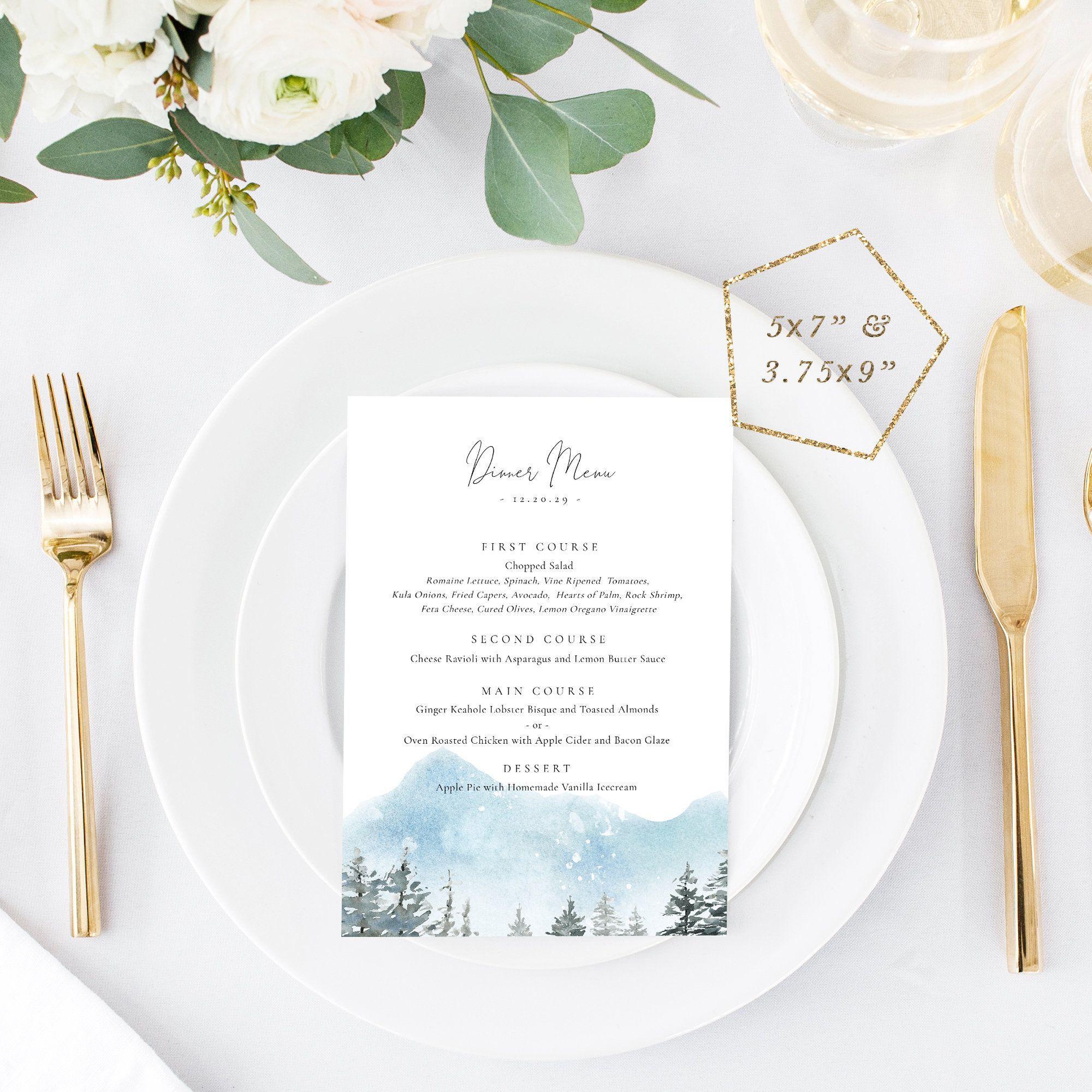 001 Excellent Dinner Party Menu Template Sample  Word Elegant Free Google DocFull