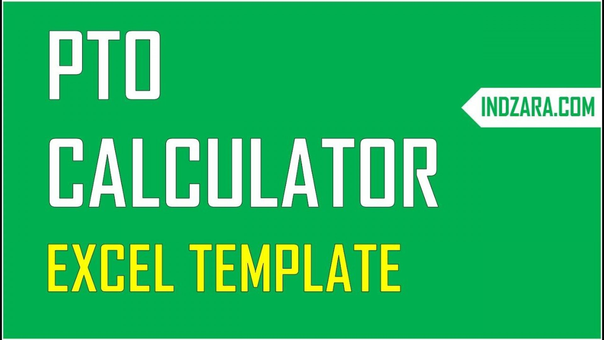 001 Excellent Excel Pto Tracker Template Highest Quality  Employee Vacation Spreadsheet 2019 Free1920