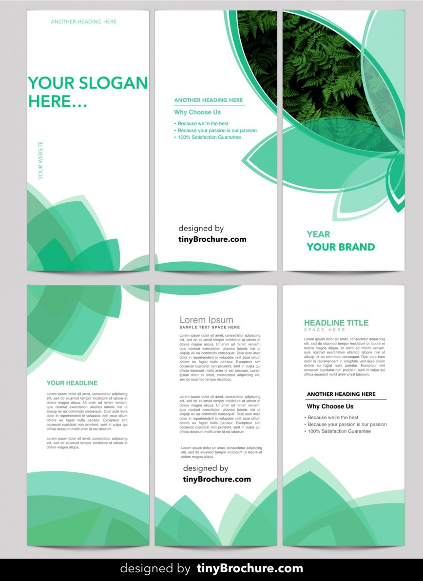 001 Excellent Free Brochure Template Download High Resolution  Editable In Coreldraw Tri Fold For Word