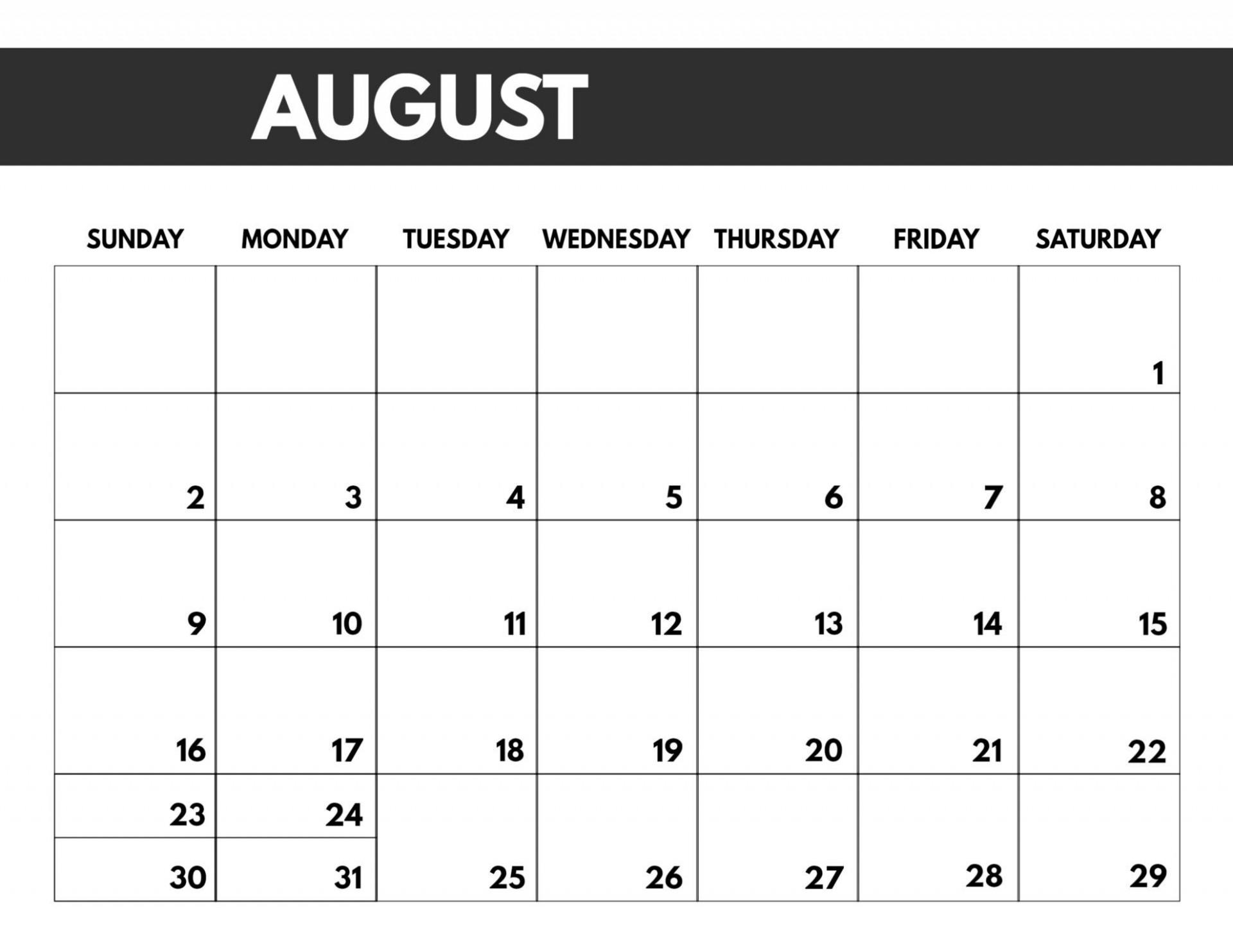 Free Calendar Template 2020 Addictionary