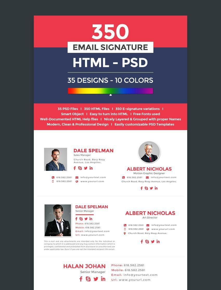 001 Excellent Free Email Signature Template Example  Templates Outlook For Yahoo Mac MailFull