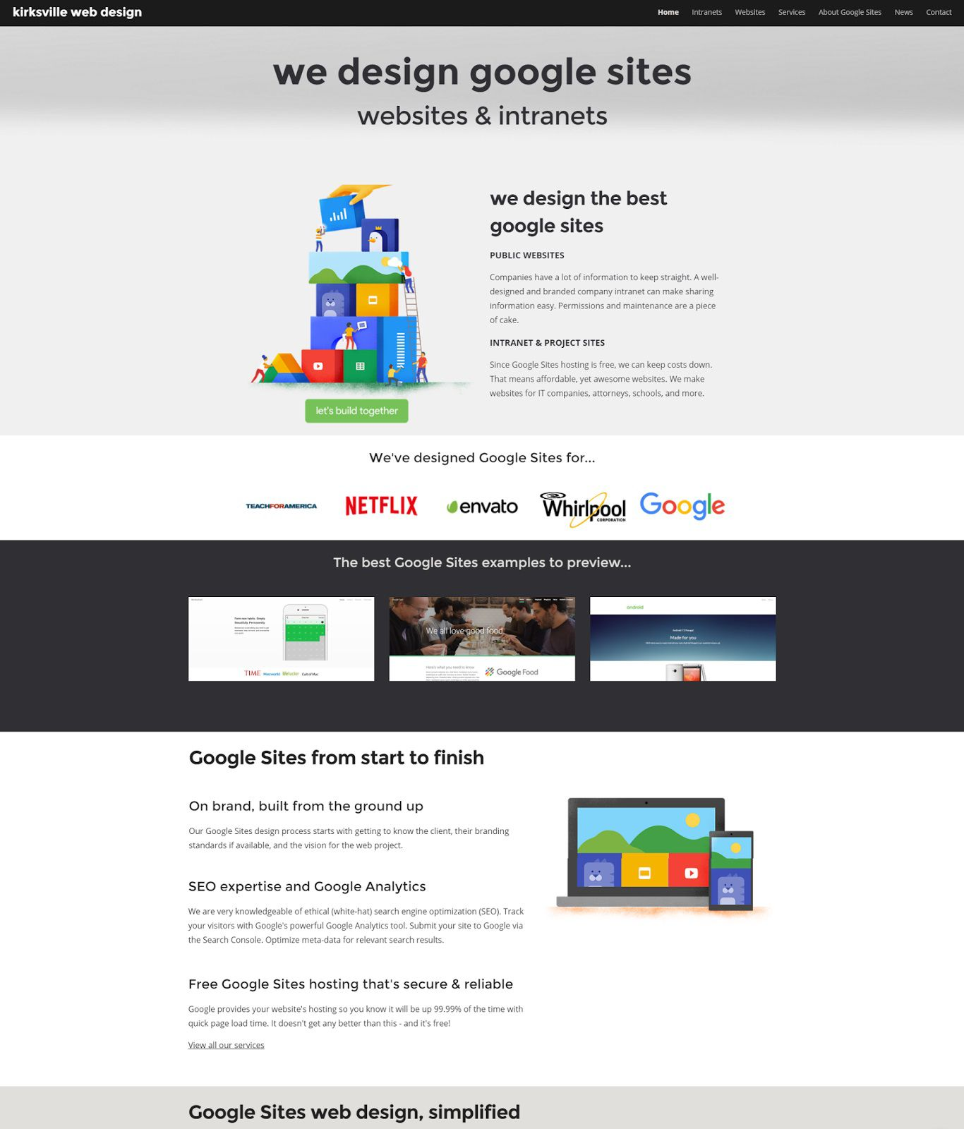 001 Excellent Free Google Site Template High Resolution  Templates Download New 2020Full