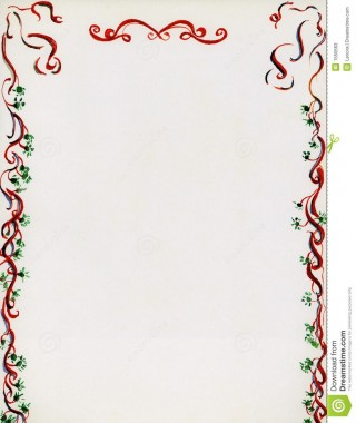 001 Excellent Free Holiday Stationery Template For Word High Resolution 320
