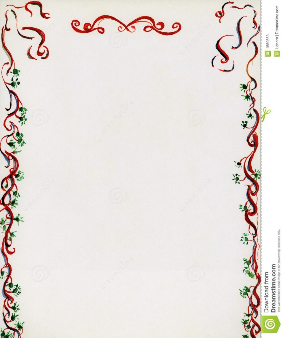001 Excellent Free Holiday Stationery Template For Word High Resolution 960