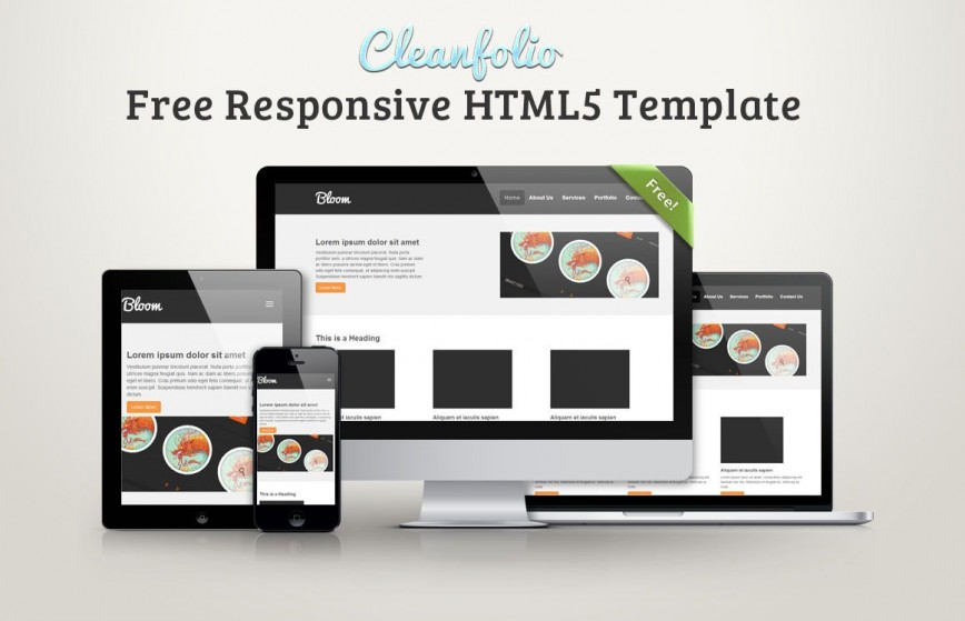 001 Excellent Free Responsive Html5 Template Sample  Download For School Bootstrap Website868