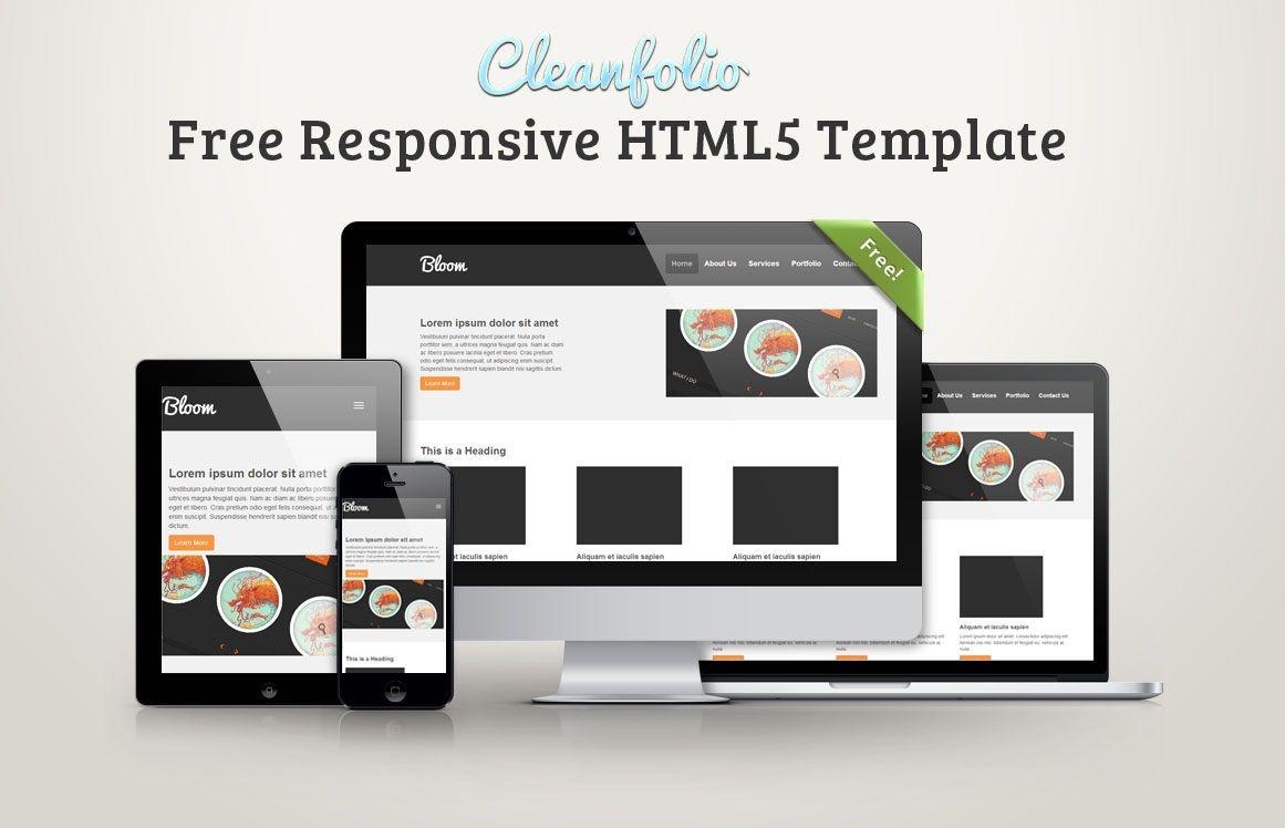 001 Excellent Free Responsive Html5 Template Sample  Best Download For School MedicalFull