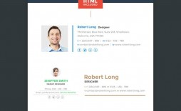 001 Excellent Html Email Signature Template High Definition  Logo Thunderbird Generator