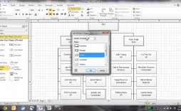 001 Excellent Microsoft Visio Org Chart Shape Example  Shapes