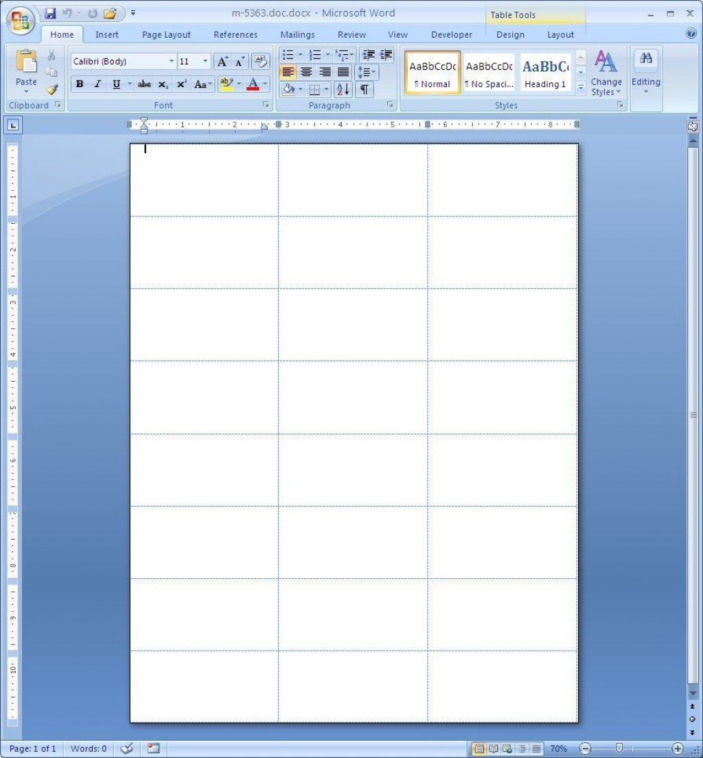 001 Excellent Microsoft Word Addres Label Template Inspiration  30 Per Sheet 14 16Large