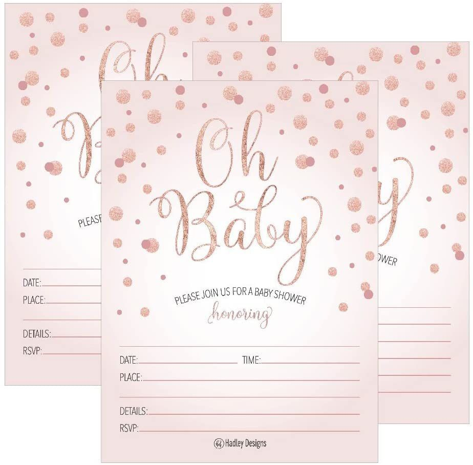 001 Exceptional Baby Shower Invitation Girl Printable Inspiration Full