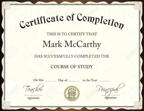 001 Exceptional Certificate Of Award Template Word Free Idea 480
