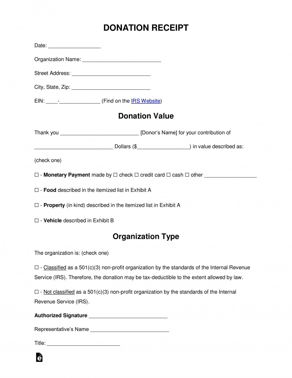 001 Exceptional Charitable Contribution Receipt Example Highest Clarity  Donation Tax Template Sample LetterLarge