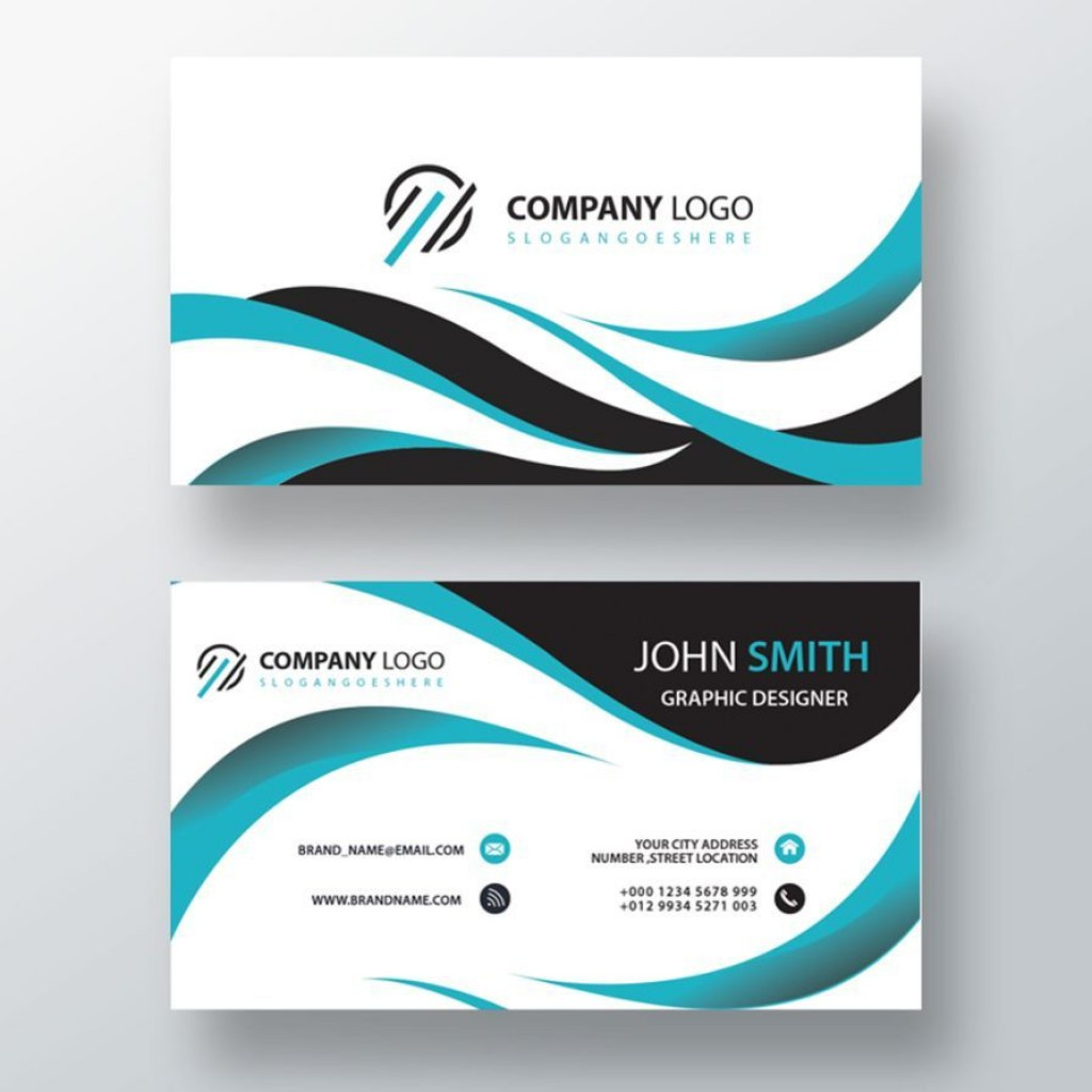 001 Exceptional Free Simple Busines Card Template Word High Definition Large